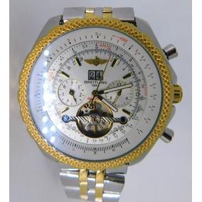 1ad10d869ce Relogio Breitling 1884 A13363 Dourado De Luxo - Relógios De Pulso no ...