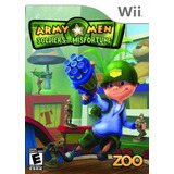 Videojuego Wii Army Men Soldiers Of Misfortune