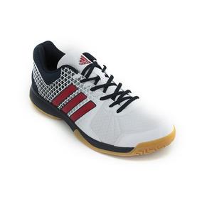Zapatillas adidas Ligra 4 Voley Blaco Rojo Hombre