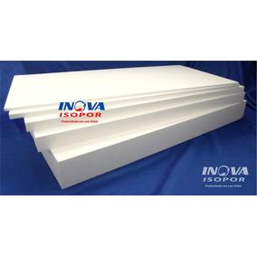 5 Placas De Isopor Térmico 100x50cm X 2cm 20mm