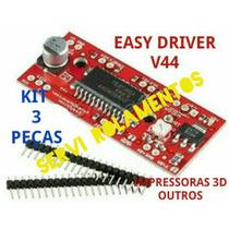 Kit 3 Peças Easy Driver V44 A3967 Motor Passo Arduino Pic