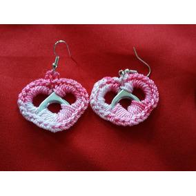 Lote De 30 Aretes Crochet Fashion Moda Negocio Envío!!!!