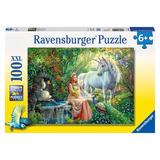 Ravensburger 100 Pcs Reino De Los Unicornios Puzzle Educando