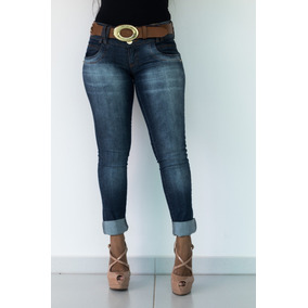 Calça Feminina Jeans Oppnus Cigarrete Skinny Lycra 2531