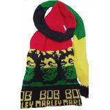 Touca Gorro Bob Marley Jamaica Longa Cachecol Reggae