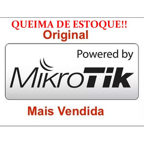 Licença Mikrotik Routeros Level 4 Rb L4 X86 Original