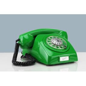 Telefone Antigo Dlg Diversas Cores Retrô Ericsson Disco