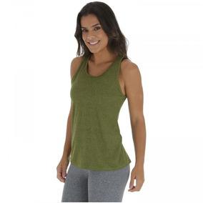 b5f4a7c62 Camiseta Regata Oxer Longa Aero - Feminina - Cor Cinza verde
