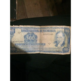 Billete 500 Cordobas