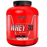 Whey 3w 1,8kg ( 1800g) Integral Médica + Brinde