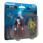 Duo Pack Vampiro Y Monstruo Playmobil 9307