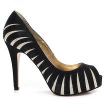 Sapato Laura Porto Peep Toe Mh9526 | Zariff