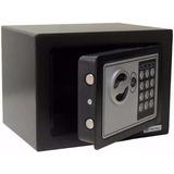 Cofre Com Digital Chave De Segurança 20cm X 31cm X 20cm