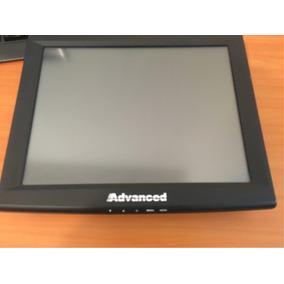 Monitor Touch Screen Advance 17 Negro Usb