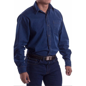 Camisa De Mezclilla Industrial Para Trabajo, Uso Rudo Xxl
