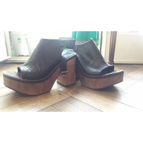 Zapatos De Cuero Marca A Ti Juana