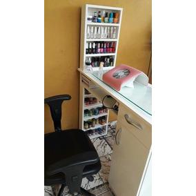 Mesa De Manicure Com Expositor