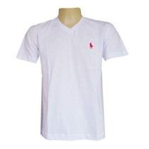 Kit C/ 10 Camisetas Gola V Marcas Variadas Atacado Aproveite