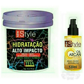 Hidratação Alto Impacto Efeito Teia 1kg+oleo Argan Oil 120