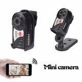 Mini Camara Q7 - Wifi - Infrarrojo - Sensor De Movimiento