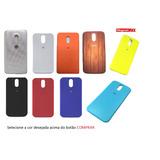 Tampa Traseira Motorola Moto G4 Play Xt1600/xt1603