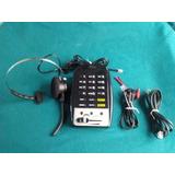 Telefone Headset P/ Telemarketing Mod. Prima 6 Itm Preto