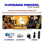 Fliperama Portátil Slim 3 Em 1 - Scorpion Mk11
