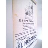 Antigua Publicidad Naipes El Heraldo - Cartas Ind. Argentina