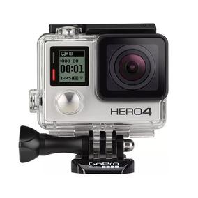 Gopro Hero 4 Silver + Micro-sd De 64gb + Bastão + Carregador