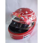 Capacete F1 Schumacher 2005  Expo Ou Uso Kart . Ebf .pintura