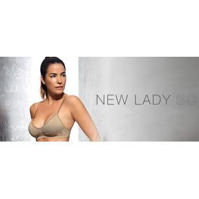 Corpiño Sin Costura Bretel Fino - New Lady Art. 508