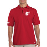 Playera Polo Diablos Rojos De México By Tigre Texano Designs