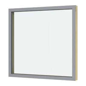 Janela Fixa 100x100 Com Vidro Laminado 10mm
