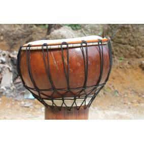 Tambores Djêmbes Artesanais Morre Congo Nasce Congo
