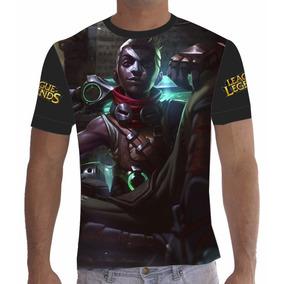 Camisa Camiseta League Of Legends Lol Ekko