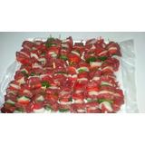 Brochette Mini X 100 $1200 Carne,pollo,panceta,cerdo