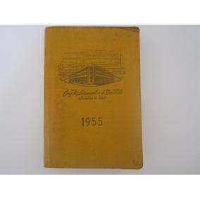 Agenda Bolso Antiga 1955 Comp. Melhoramentos De São Paulo