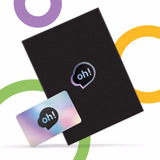 Tarjeta Oh! Gift Card $2000. Holder Premium.