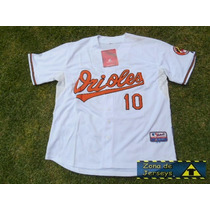Jersey Beisbol Orioles Baltimore Adam Jones 10 Talla 52