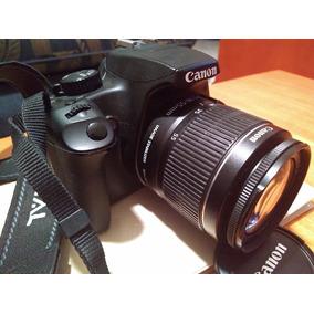 Camara Canon Eos 1000d , Poco Uso, Solo 60 Tomas