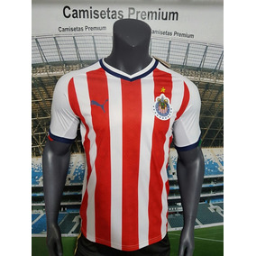 Chivas Local Version Jugador Premium Personalizada