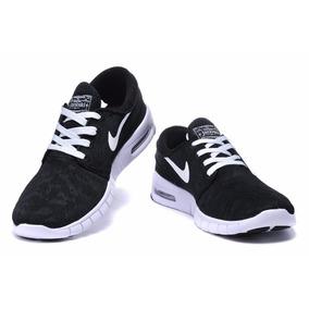 Zapatillas Nike Sb Janoski Max Negro Blanco!