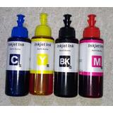 Kit Refil De Tinta P/ Epson L200 L210 L355 L555 L365 L375
