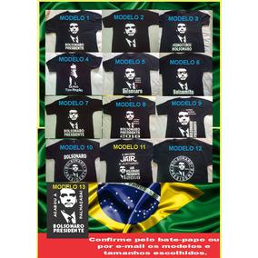 Camiseta Somos Todos Bolsonaro Camisa Bolsonaro Presidente