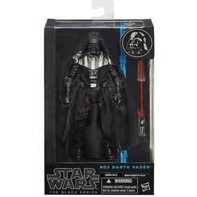 Darth Vader Star Wars Boneco 15cm The Black Series Hasbro