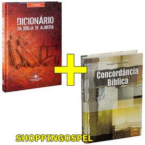 Dicionário Bíblico De Almeida + Concordância Bíblica