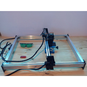 Maquina Laser Led Grav De Metais Corte Mdf 15w 300x500mm