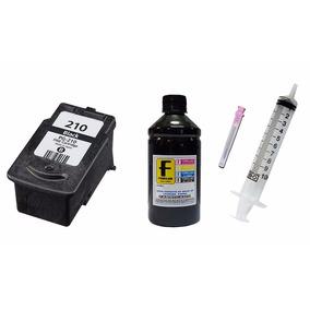 Cartucho Pg 210 Preto 200ml Tinta Recarga Impressora Mp250