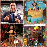 Muñecos Figuras En Masa Flexible Para Tortas