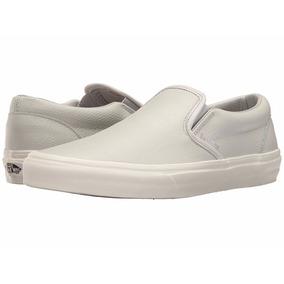 zapatos vans mujer piel